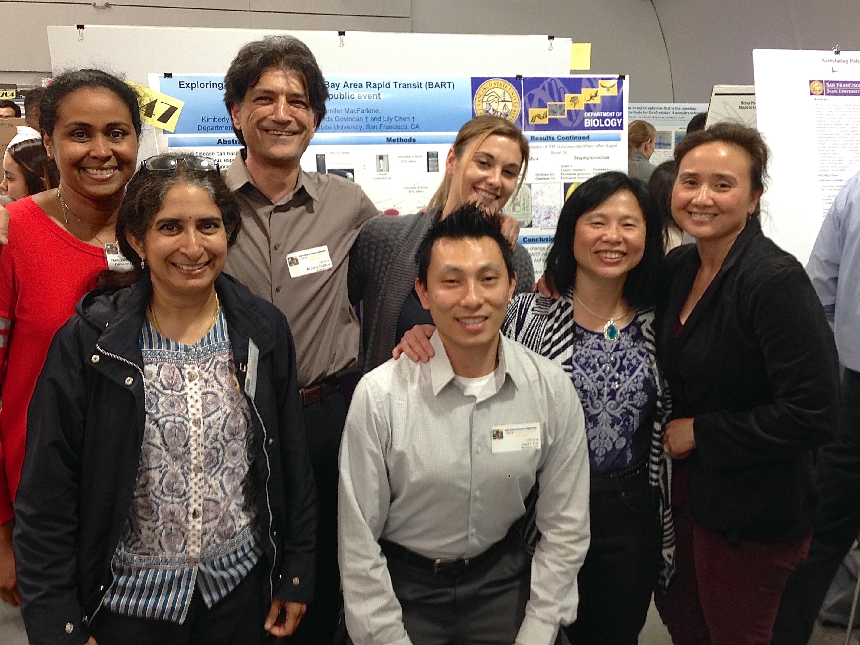 LChen UG BART Microbiome Team 2016