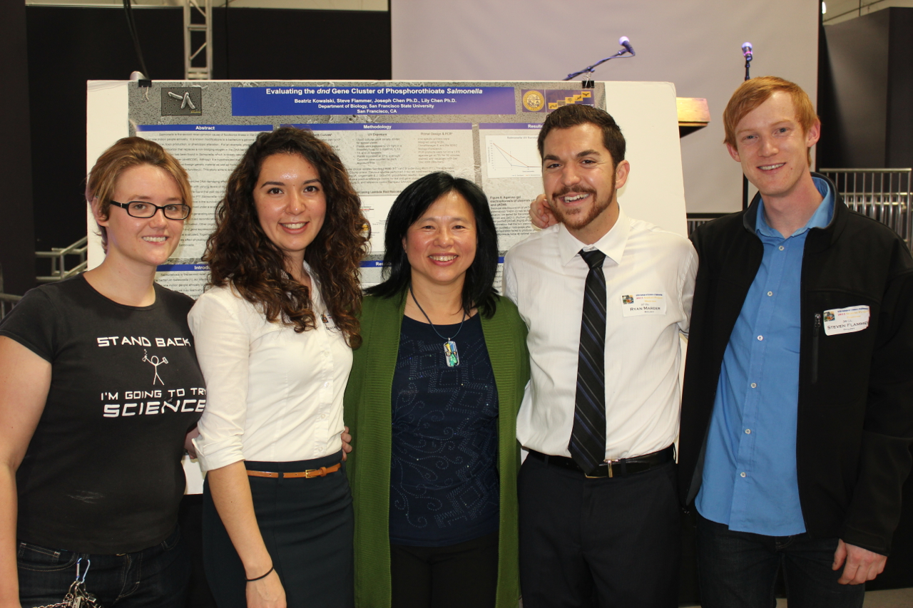 photo of L.Chen lab master students