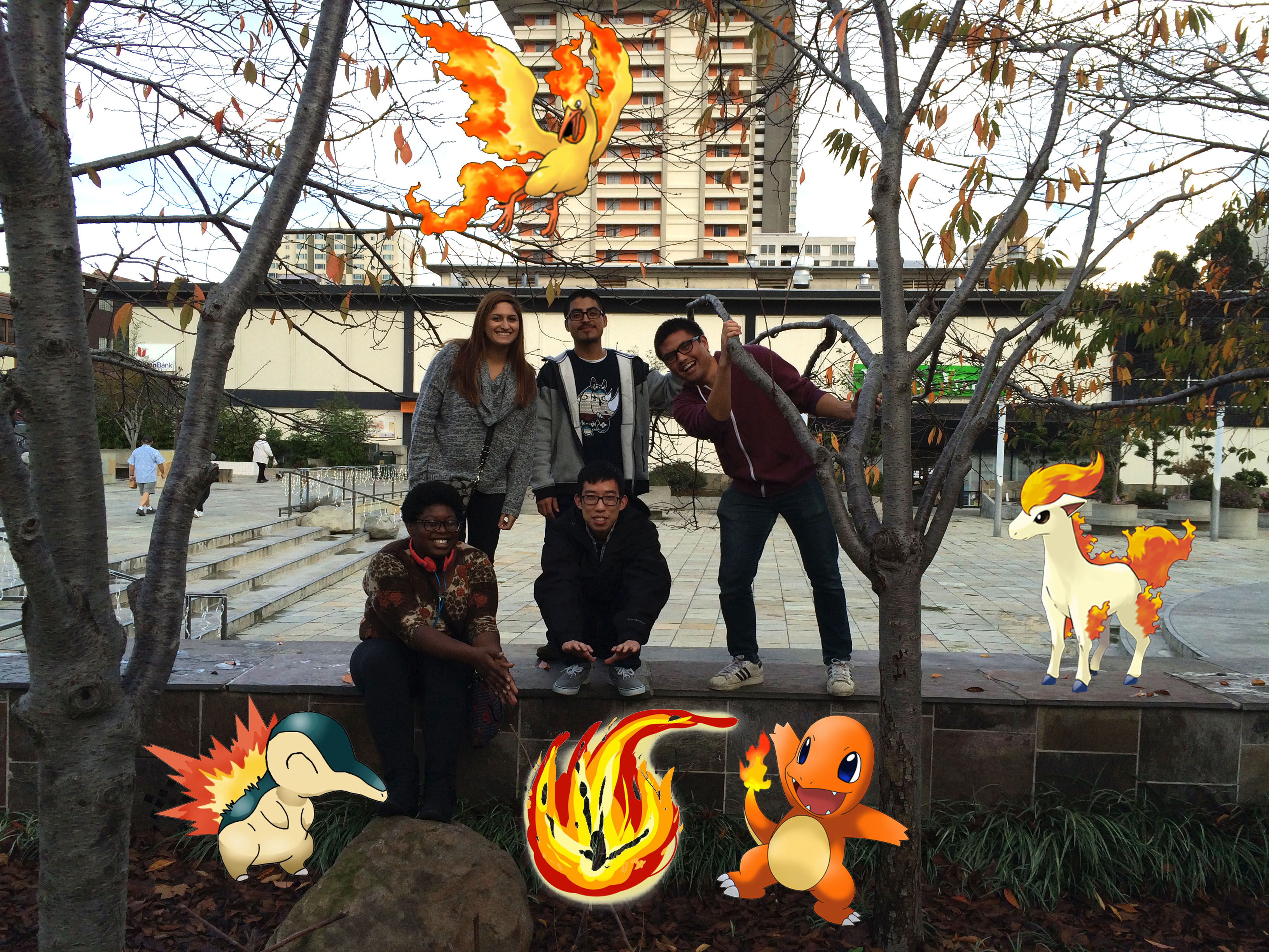 Fall 2014 lab lunch in Japantown
