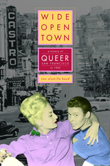A History of Queer San Francisco to 1965